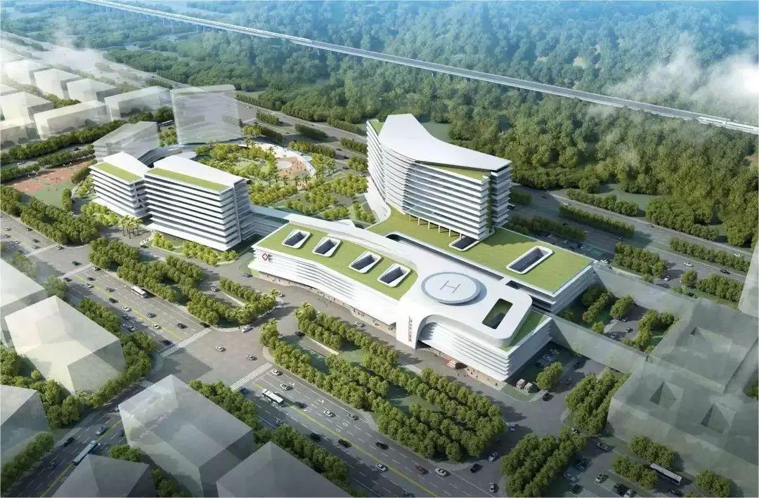 图片集 深汕中心医院设计效果图