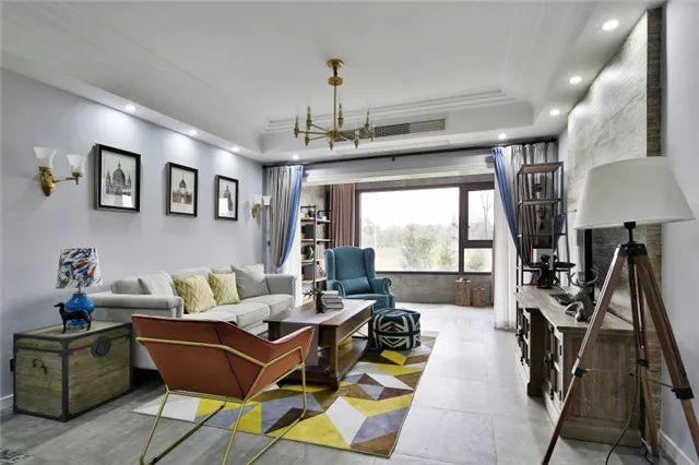 绘装新房▶140㎡美式混搭风,为20年闺蜜设计的房子!
