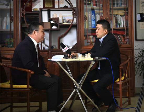 专访象棋海外推广爱心大使--杨国能