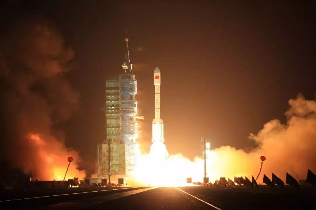 用����9.���,��_2011年9月29日,中国在酒泉卫星发射中心用长征二号f运载火箭将天宫