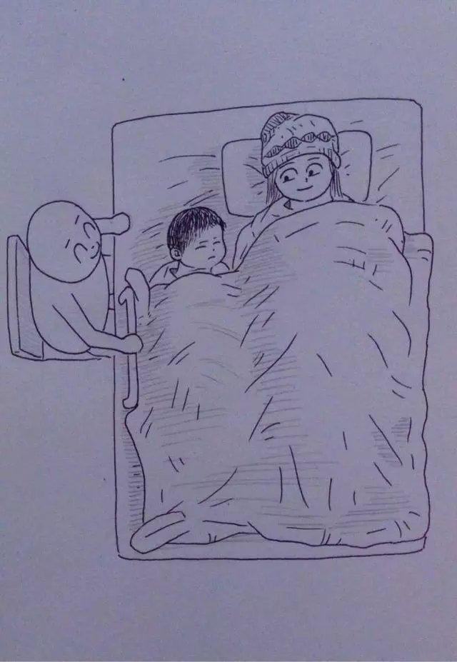 从结婚到怀孕,这个中国小伙把老婆日常画成漫画,看完笑着笑着就哭了