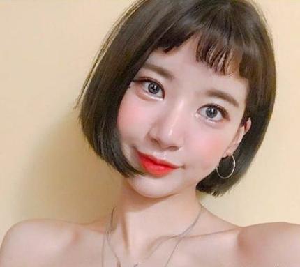 圆脸妹子_2018年最流行的短发,12款大圆脸妹子也适合!