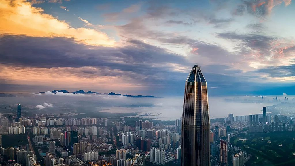 深圳地标—平安金融大厦