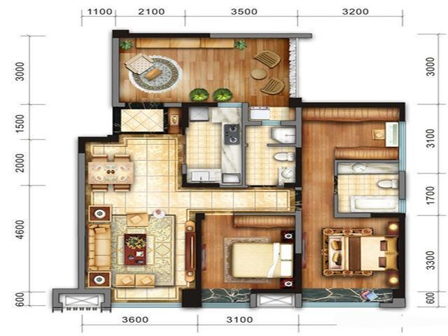 105平米三居室如何装修 中式全包16万!