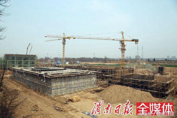 渭南西塬上建了个污水处理厂 投用后出水水质将达一级标准
