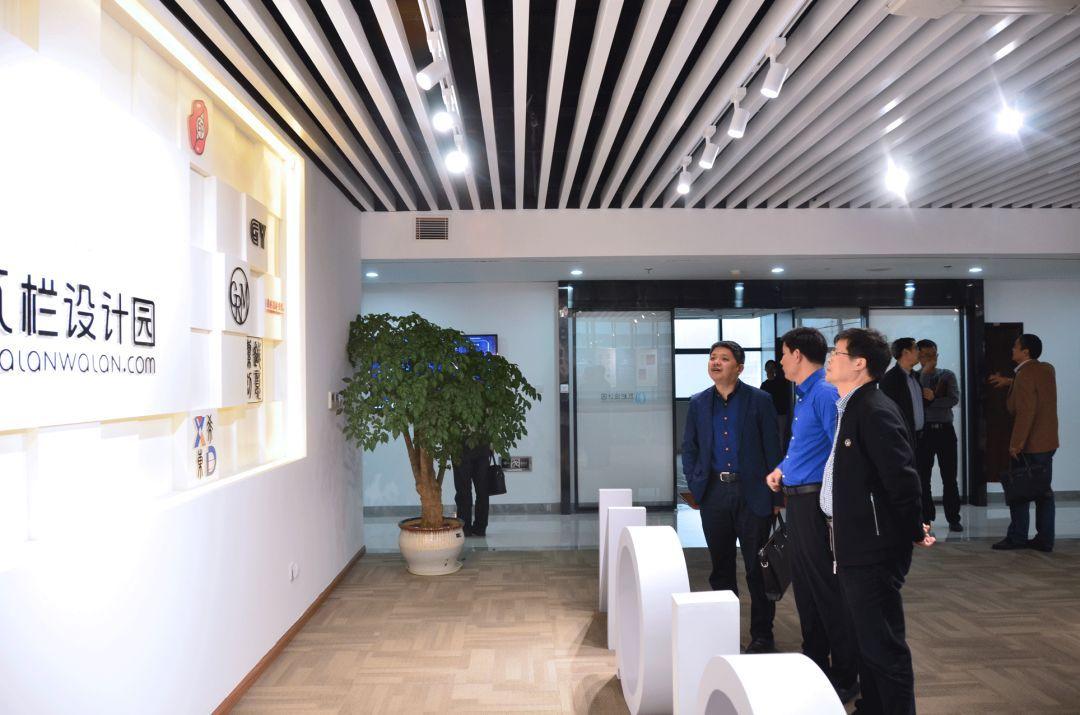 版权交流会 | 柯桥区人民政府副区长吴晓炯带队走进瓦栏设计园