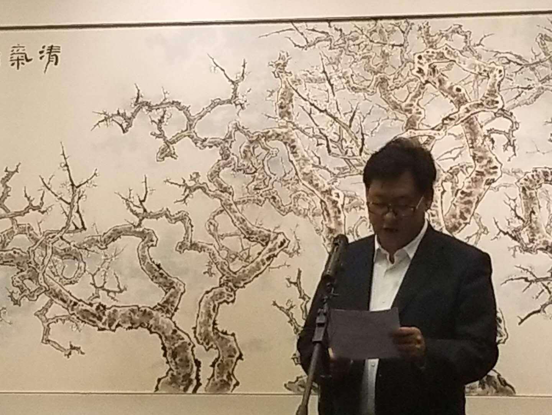 《乾坤清气——邓福星画梅作品展》璀璨亮相北京画院美术馆