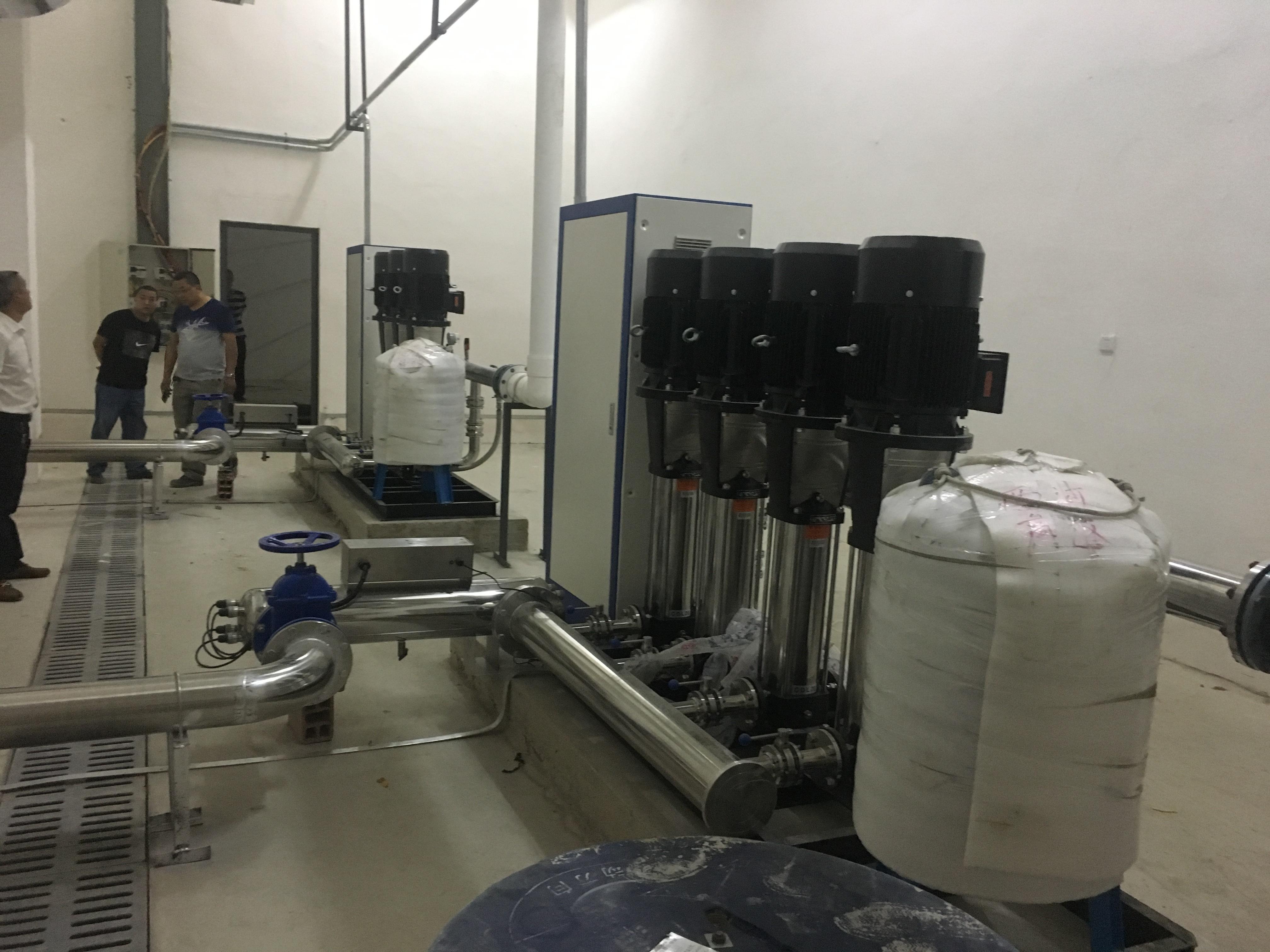 自动化水泵供水控制系统的应用探讨