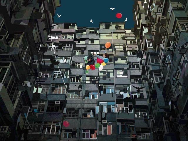 梦幻甜美!二次元气球主题美图壁纸推荐