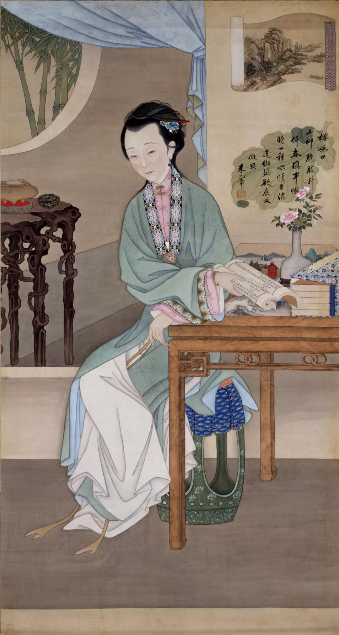 清朝宫廷的美女,原来是这般的模样