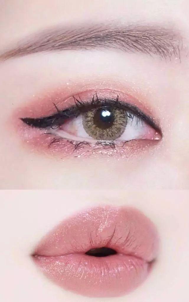 眼唇妆完美搭配,喜欢的可以参考~