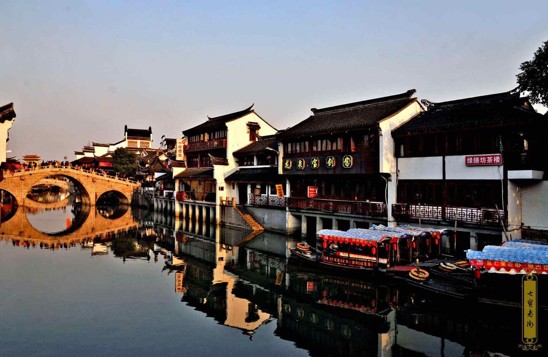 隐藏在大上海的千年古镇,传说镇上有七件宝物,宋朝皇帝赐额