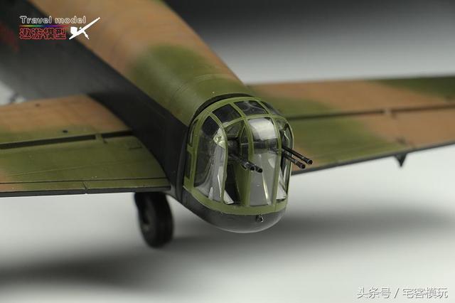 模玩秀:田宫 开斯特轰炸机