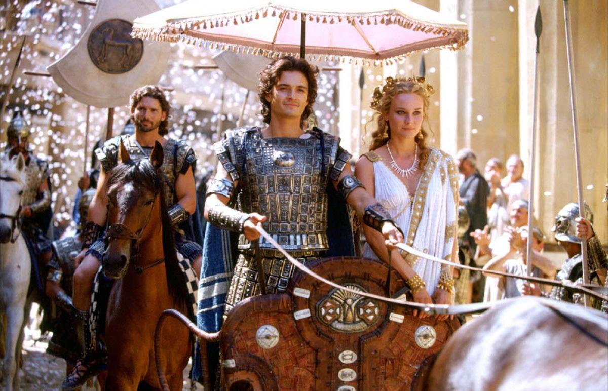 特洛伊战争的起因_引发特洛伊战争的美女海伦,战争结束后她的老公对她做了什么?
