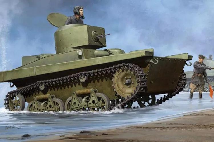 水陆两栖坦克简史 造型猎奇,脑洞奇大,论速度中国已占