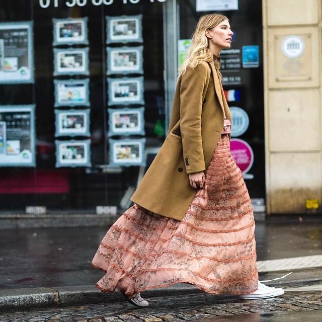 时髦精说,对春天最起码的尊重就是pick一件美美的连衣裙