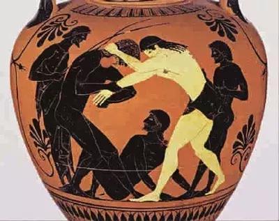 柏拉图的肉体喜欢的竟然是这个?三分钟带你秒懂摔跤的起源!