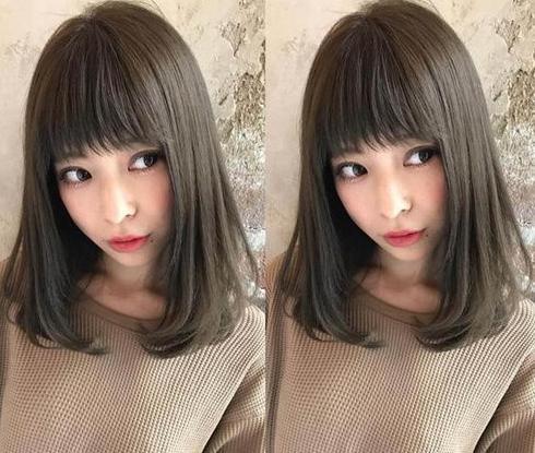 时尚 正文  2018流行齐肩烫发发型图片十二 一款好看的齐肩发,减龄平图片
