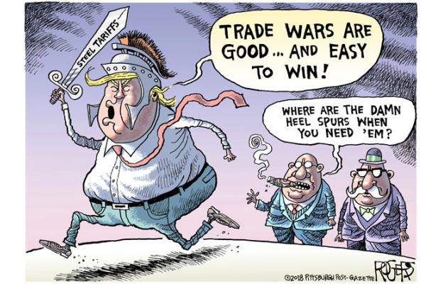 汇市周评:非农遭贸易战抢镜,美指企稳英镑春天来了?