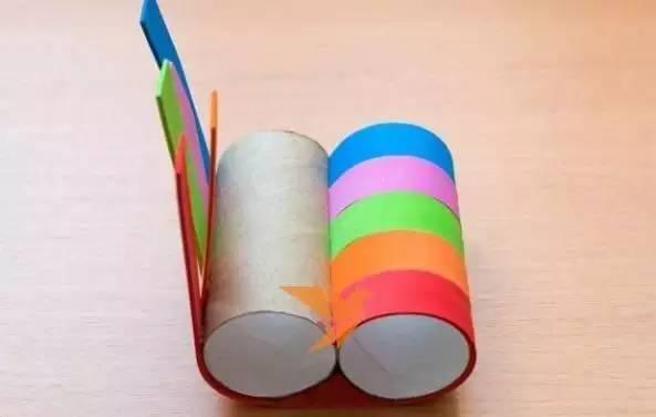 【彩虹手工】 创意彩虹帽子,吊饰,绘画,玩具,给孩子们图片