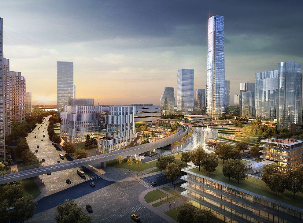 而这样的moc芯城汇,是站在城市的高度之上,也是苏州未来所需要的,它