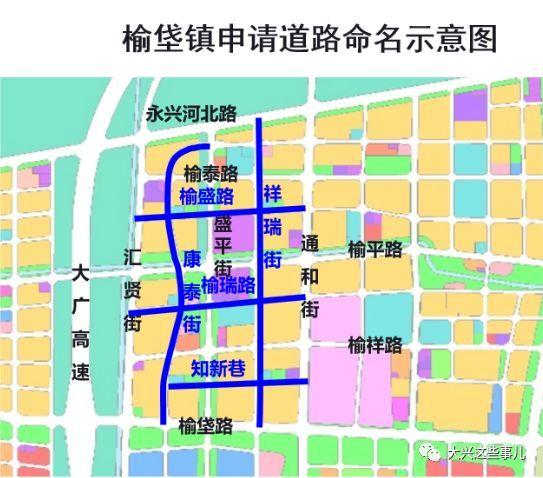 榆垡临空经济区规划图