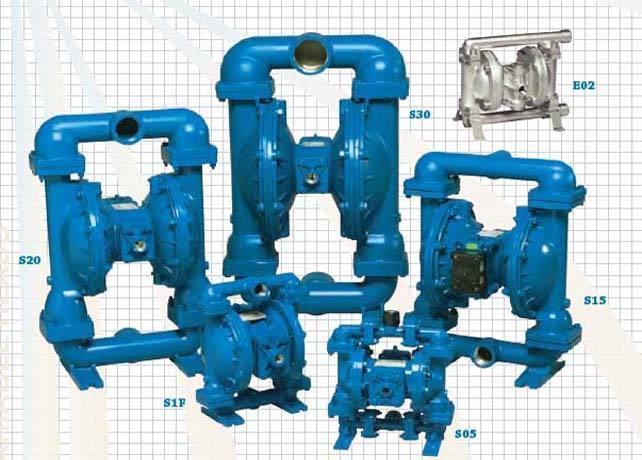气动隔膜泵流量特性的选择|荣鹏气动图片