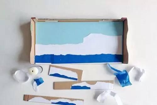 新创意,幼儿园鞋盒创意手工制作!