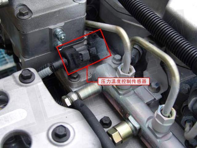 小松挖掘机发动机压力开关及传感器分布_搜狐汽车图片