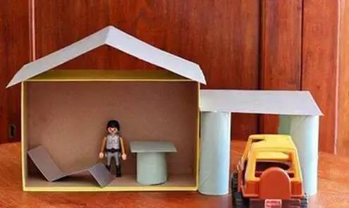 新创意,幼儿园鞋盒创意手工制作!图片