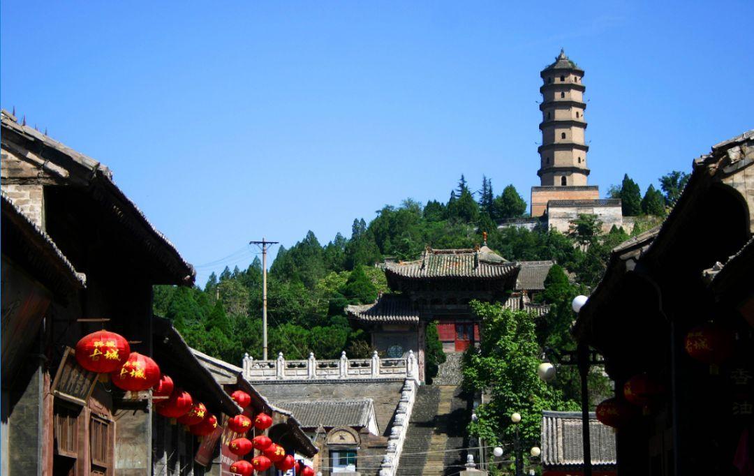 韩城,是国家历史文化名城,古村古寨古塔遍布城乡.