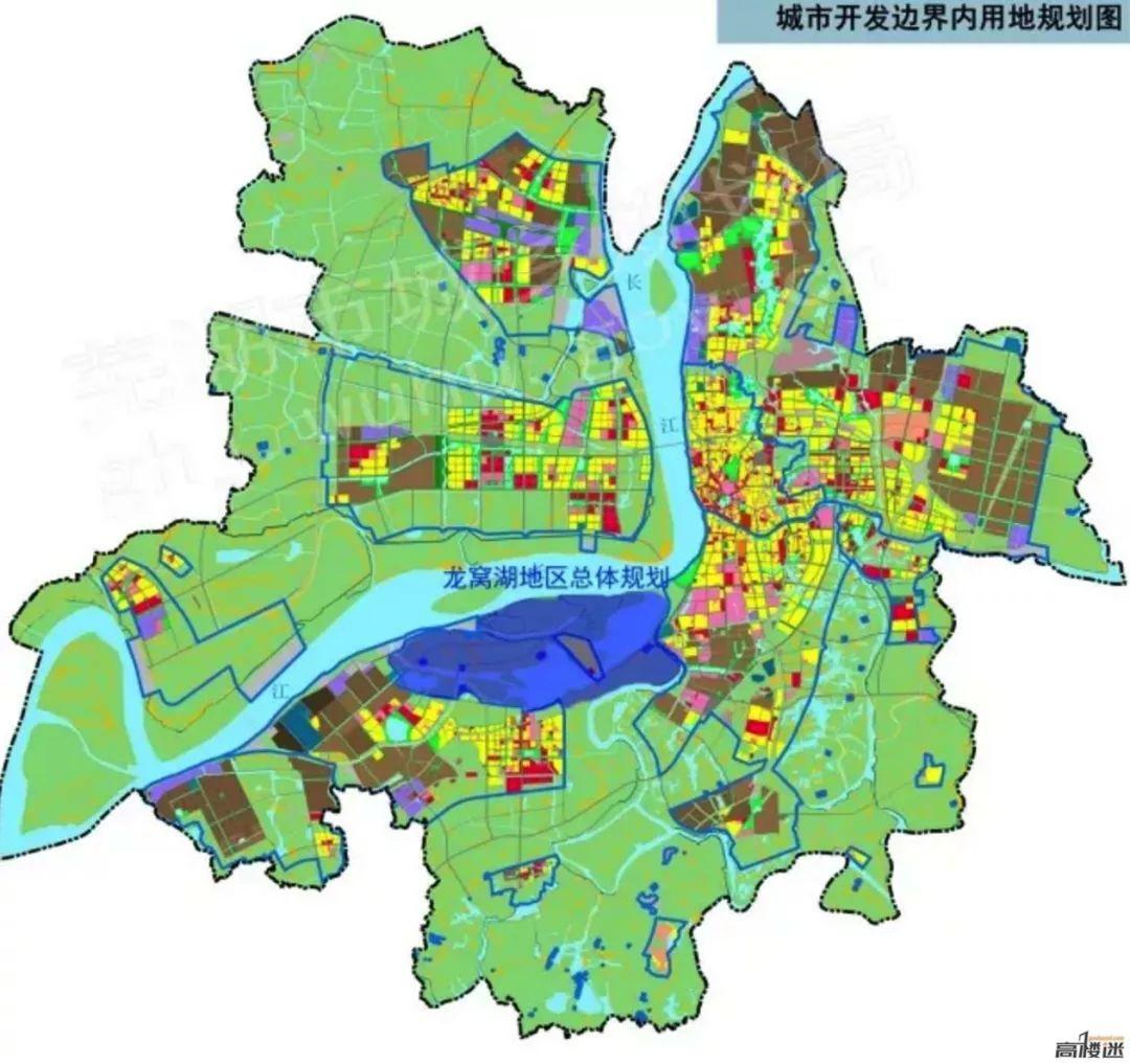 芜湖龙窝湖地区总体规划正式启动,一期湿地公园即将出炉