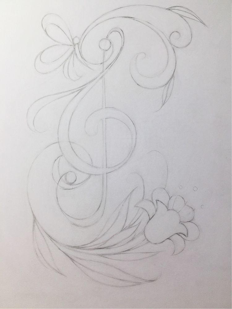 彩铅入门,曲线练习详细版图文教程,凤尾花12.图片