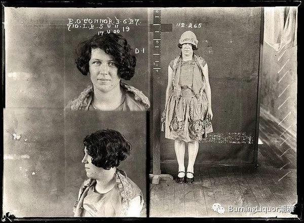 20年代照片_上世纪20年代的犯人照片,无法复制的故事情节