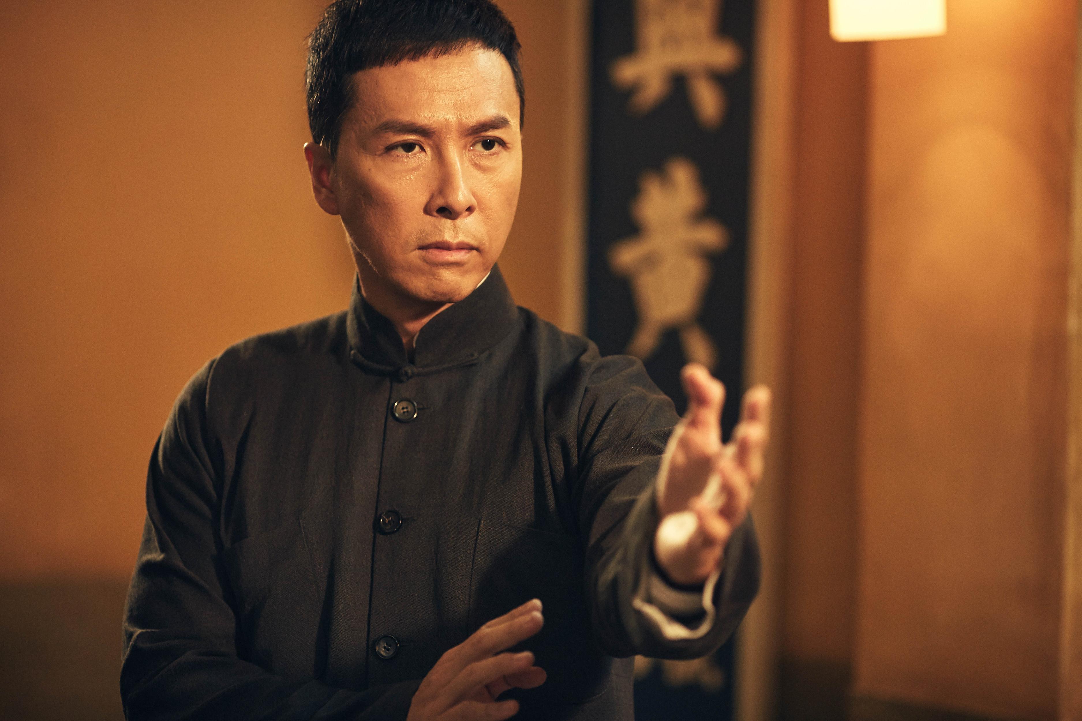 《叶问4》开机!甄子丹微博确认,为了李小龙赴美打出国图片