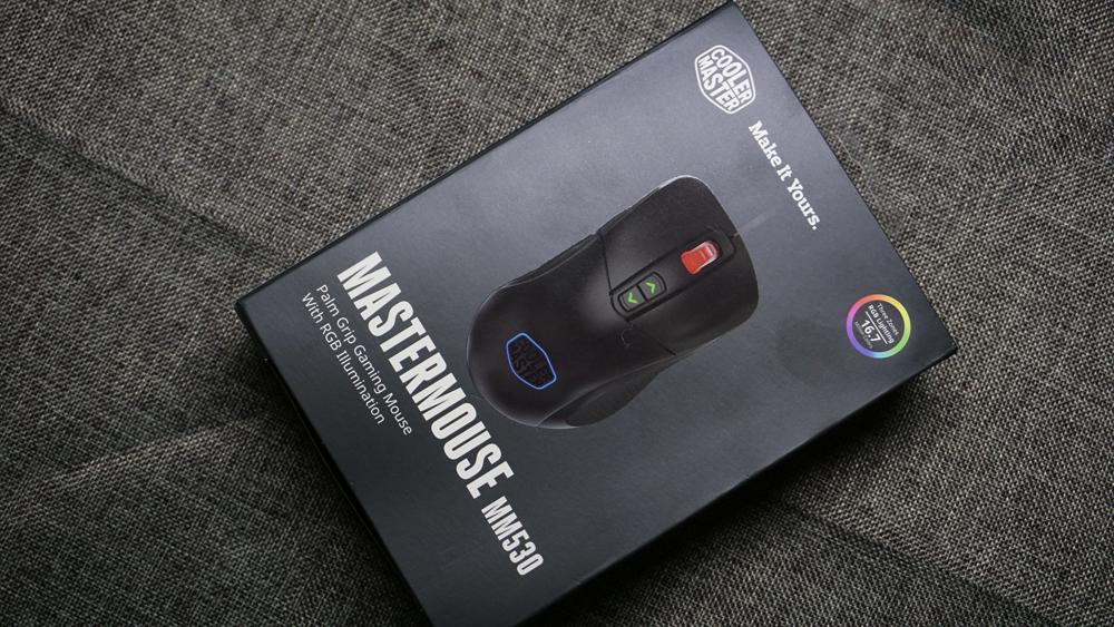 低调而不失高度–酷冷至尊MM530 RGB鼠标