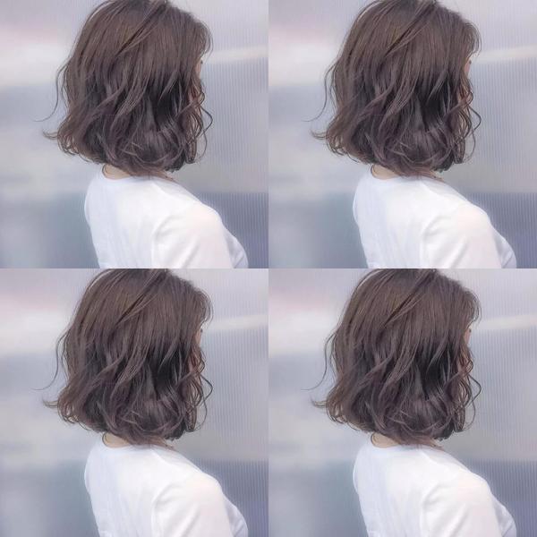 今年最火的烫发是纹理烫发,15款流行纹理烫短发,简单图片