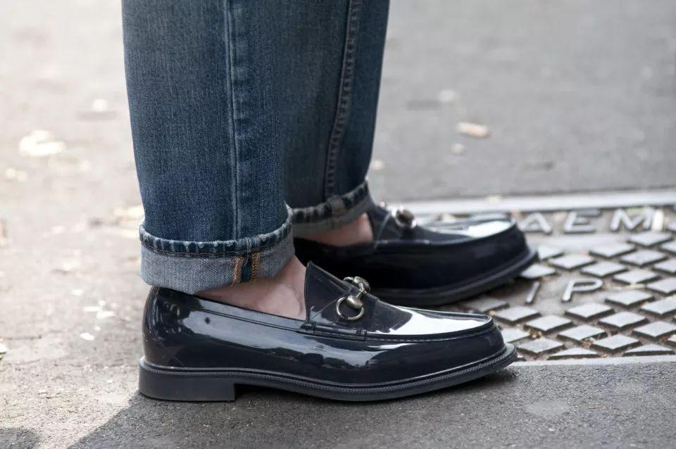 圆头款式乐福鞋