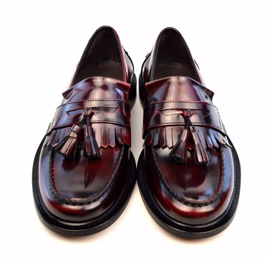 流苏乐福鞋