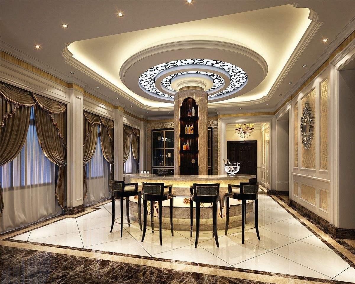 客厅吊顶装修风格及客厅吊顶装修效果图图片