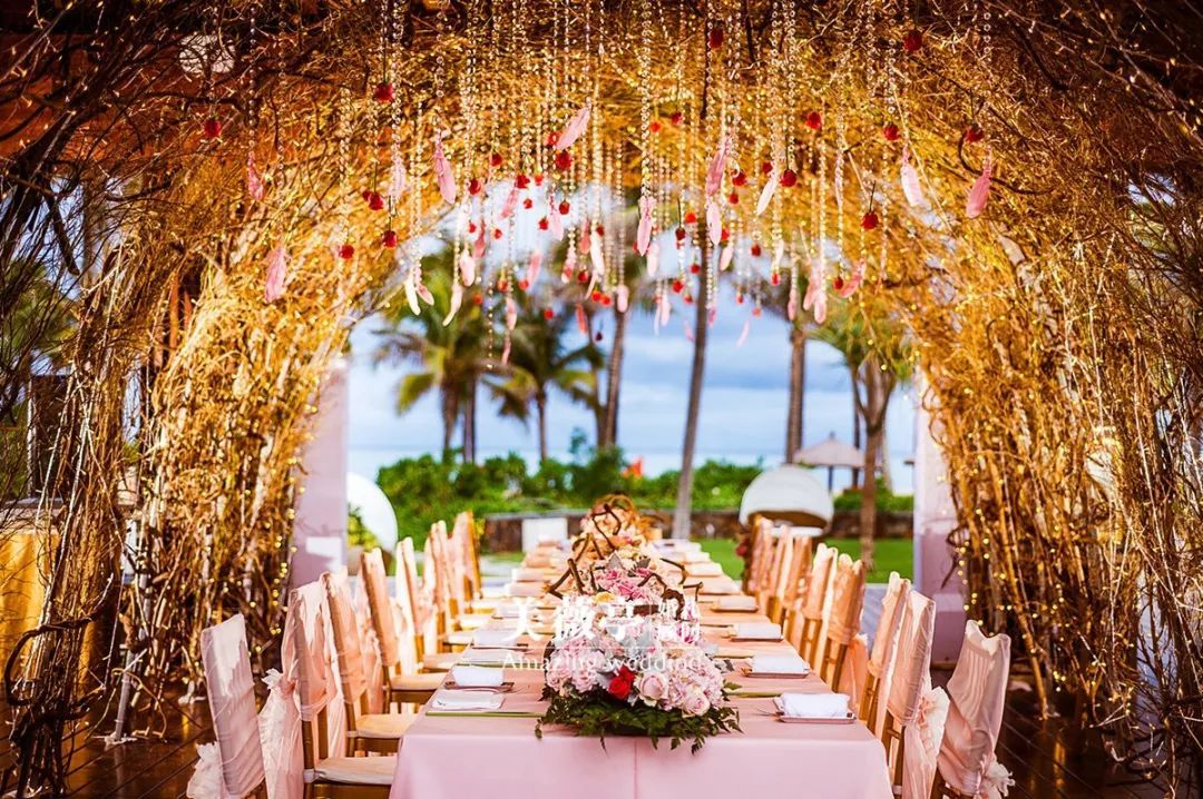 面朝大海,春暖花开,我就是想要一场美美的海岛婚礼