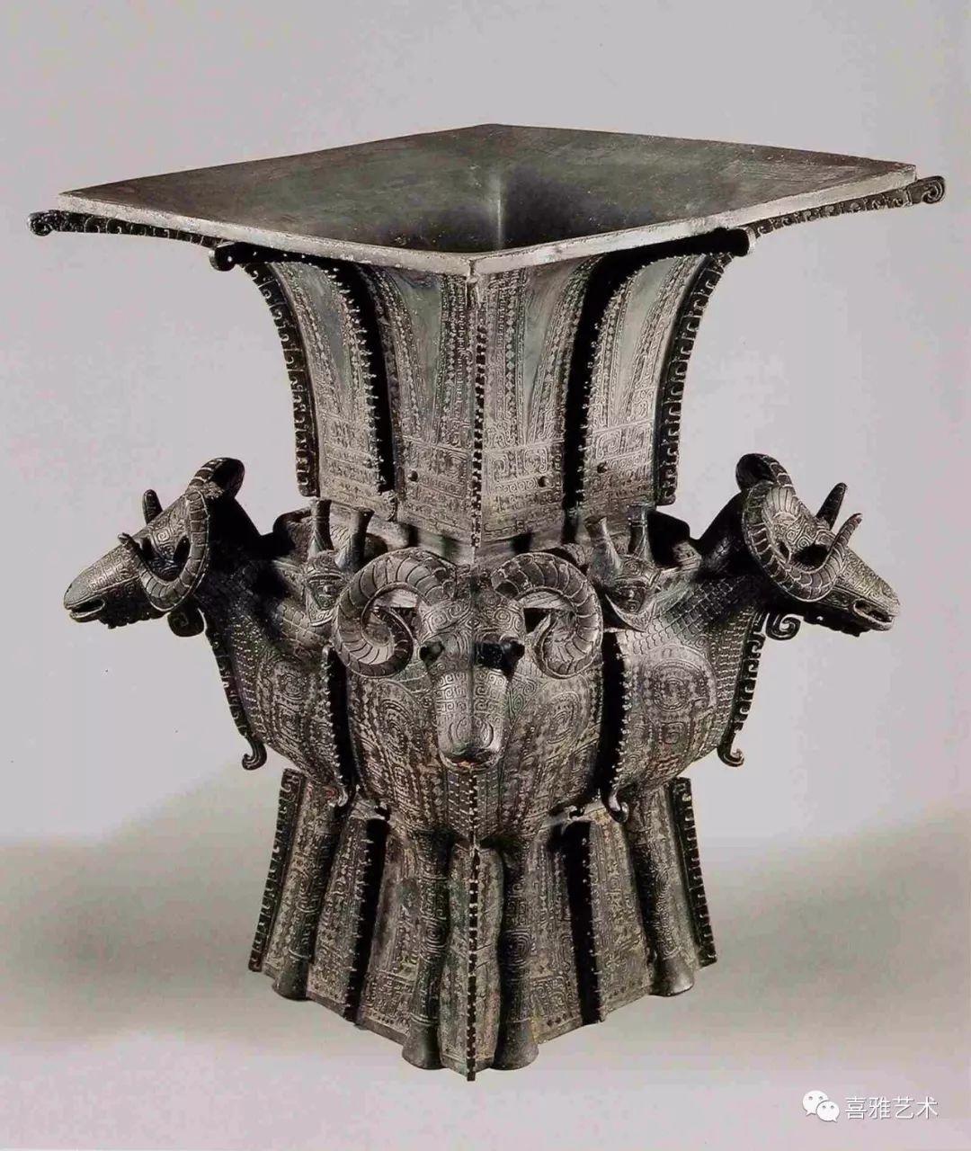 四羊方尊,商,中国国家博物馆藏