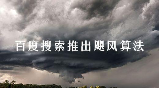 2018百度seo最新算法大全