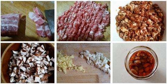 腊八豆香菇肉酱:佐粥下饭好伴侣