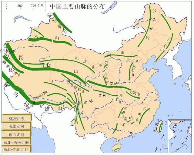 日本地形图手绘