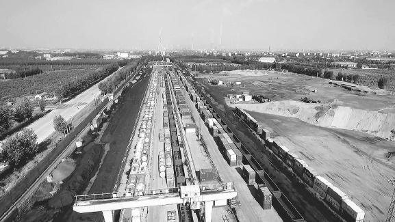 淄博:多式联运打造国家级现代物流小镇