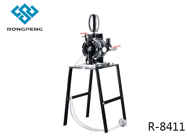荣鹏气动:气动隔膜泵能抽煤泥吗图片