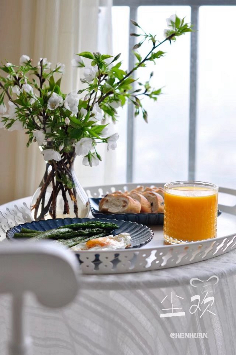 做法很简单,营养不可小觑----黑椒芦笋