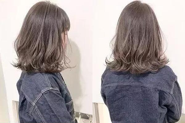 2018流行锁骨烫发look10图片