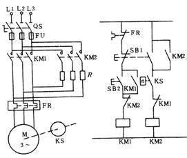 电动机反接制动是怎么一回事图片